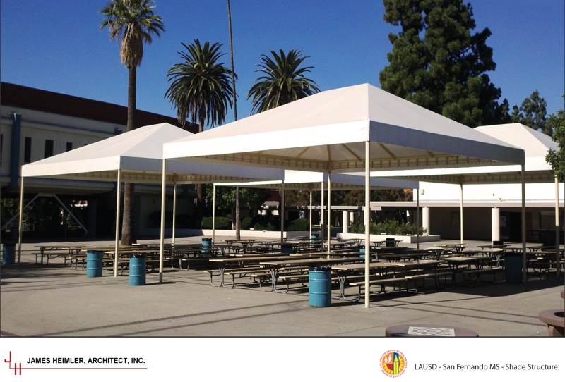 San Fernando MS Shade Structure